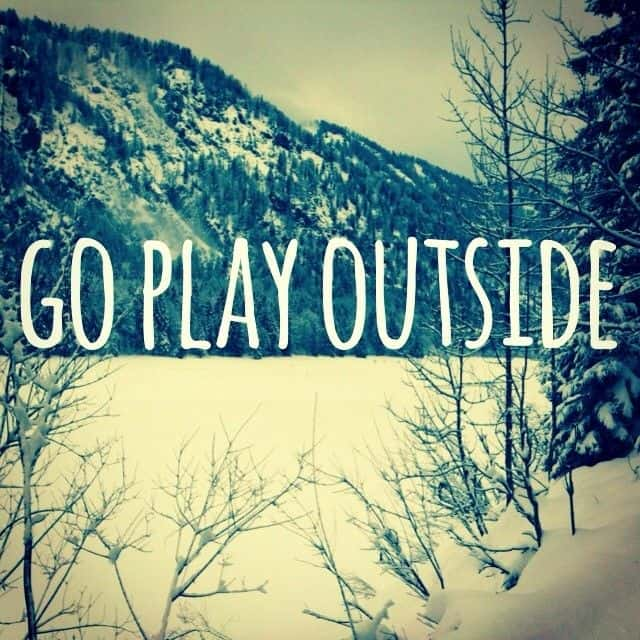 10 Reasons Why Being Outside is Important